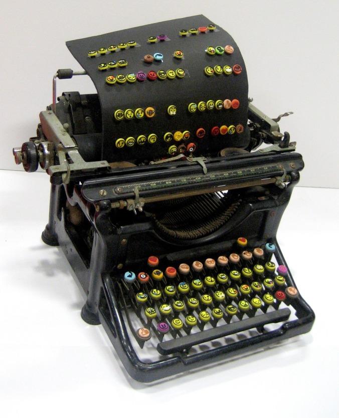emoji typewriter