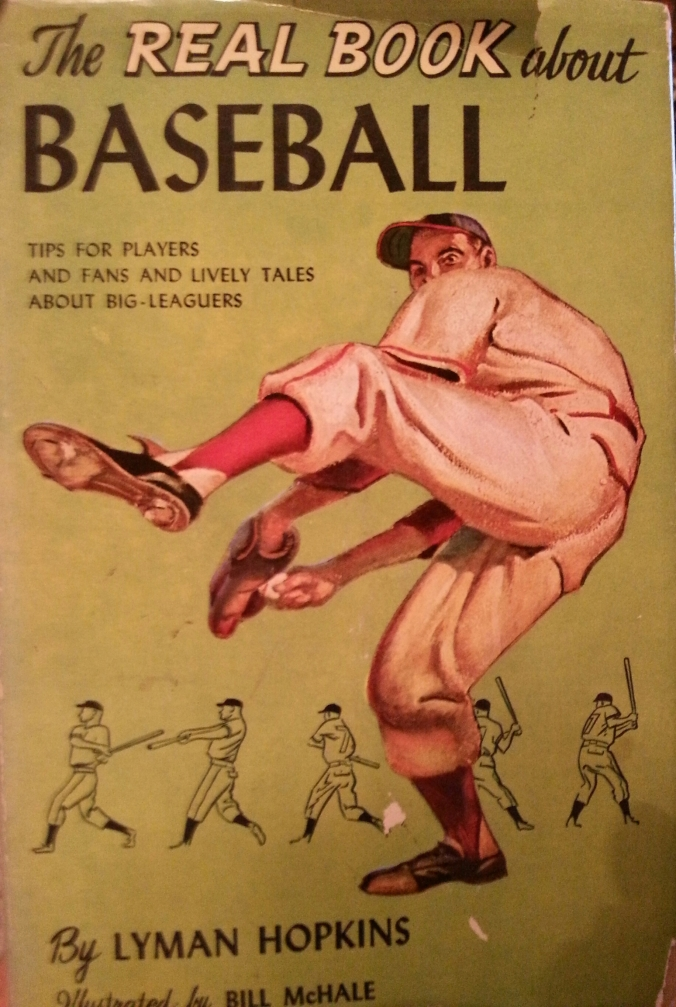 Real book about baseball
