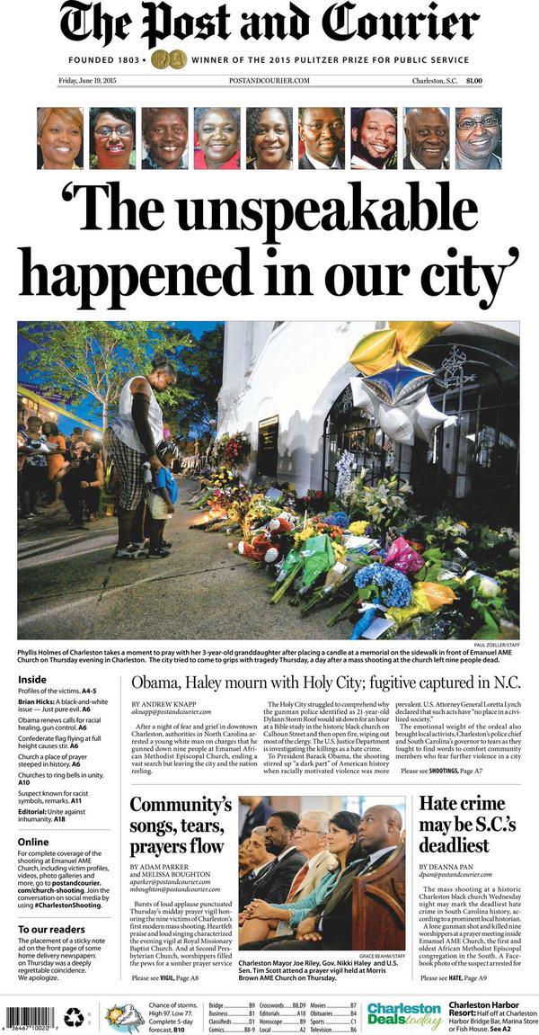 Charleston massacre 1