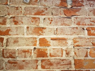 The old walls of the store.