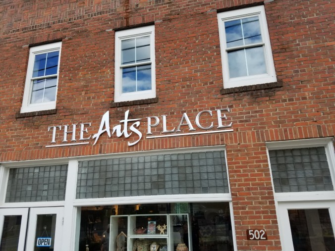 Arts Place sign