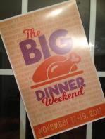 Big dinner sign