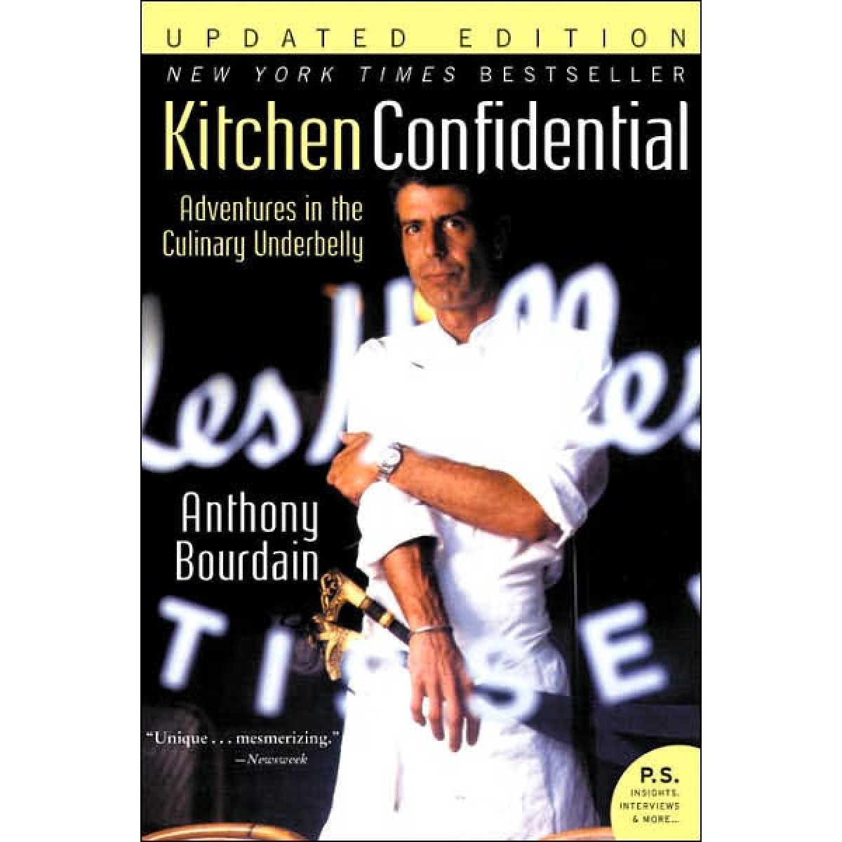 book in review: anthony bourdain's 'kitchen confidential