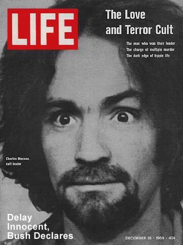 Manson life magazine cover