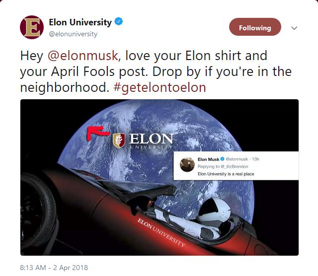 Elon reply
