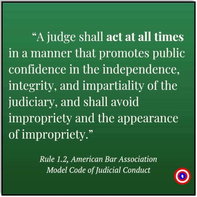 judge ethics