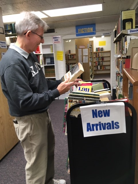 Madison library volunteer