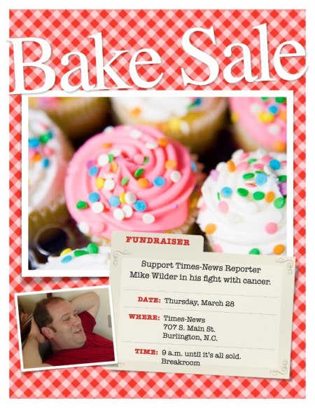 Mike 11 bake sale