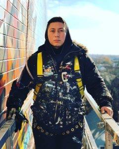 Mauricio Rameriz muralist