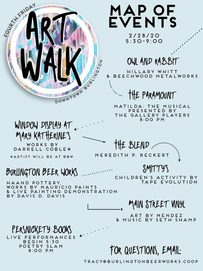 map arts walk
